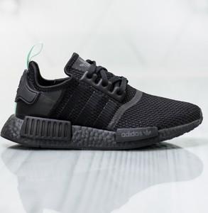 hot sale online 83c7c ab021 Czarne buty sportowe Adidas w sportowym stylu sznurowane