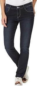 Czarne jeansy PIONEER w street stylu
