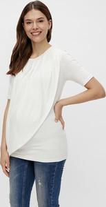 """Mama Licious Koszulka """"New Brooklyn"""" w kolorze białym do karmienia"""