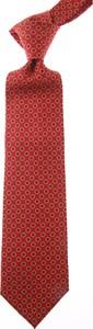 Czerwony krawat Marinella