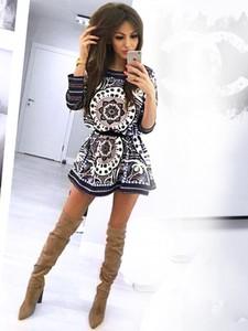 Sukienka Magmac z długim rękawem mini