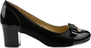 Czarne czółenka Butymodne w stylu klasycznym