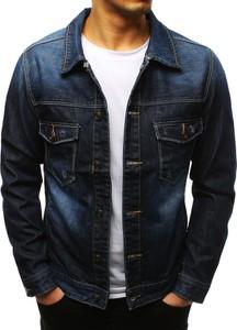 Niebieska kurtka Dstreet z bawełny