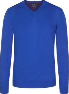 Fioletowy sweter Tom Rusborg z kaszmiru