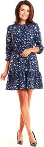 Sukienka Infinite You mini z okrągłym dekoltem