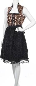 Sukienka Mondkini mini z okrągłym dekoltem