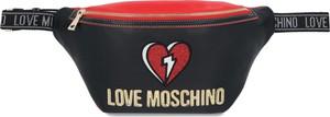 Czarna saszetka Love Moschino