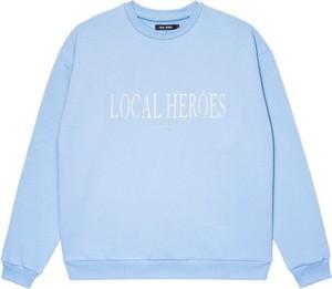 Bluza LOCAL HEROES z bawełny w stylu casual