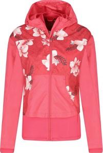 Różowa kurtka Desigual Sport krótka