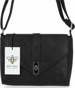 Czarna torebka Bee Bag w stylu glamour