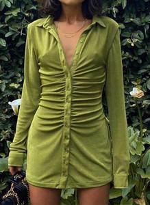 Sukienka Arilook mini koszulowa