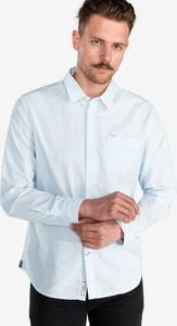 Niebieska koszula Pepe Jeans z klasycznym kołnierzykiem