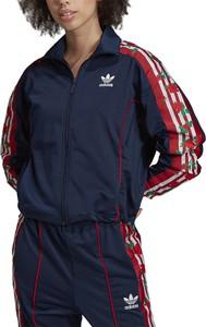 Kurtka Adidas z dresówki