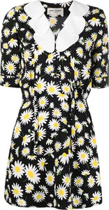 Sukienka SAINT LAURENT mini z krótkim rękawem