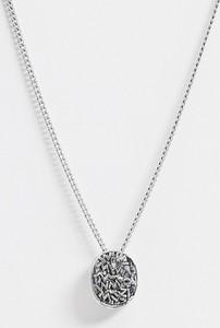 Icon Brand – Łańcuszek na szyję z symboliczną zawieszką w kolorze srebra-Srebrny
