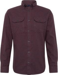 Koszula Jack & Jones z długim rękawem z bawełny z kołnierzykiem button down