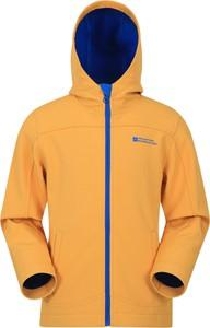 Żółta kurtka dziecięca Mountain Warehouse dla dziewczynek