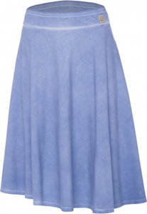 Niebieska spódnica Look made with love