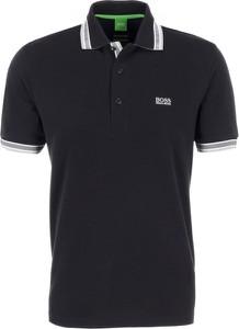 Koszulka polo Boss Athleisure z bawełny z krótkim rękawem