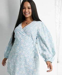 Niebieska sukienka Glamorous Curve mini