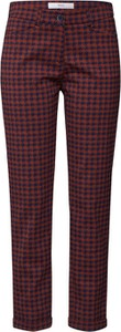 Czerwone spodnie Brax w stylu klasycznym