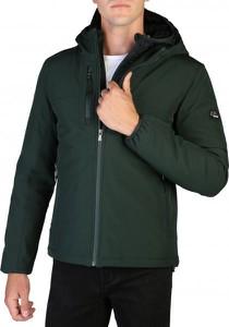 Zielona kurtka Yes Zee w stylu casual krótka