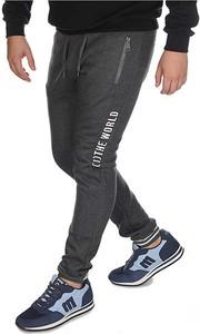 Spodnie sportowe Neidio w sportowym stylu z dresówki