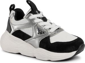 Buty sportowe dziecięce Geox sznurowane dla dziewczynek