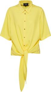 Żółta koszula Object z szyfonu