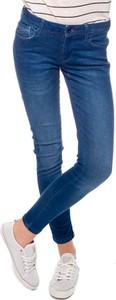 Niebieskie jeansy Pepe Jeans z jeansu