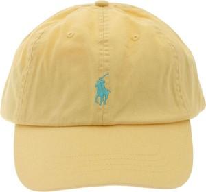 Żółta czapka POLO RALPH LAUREN