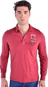 Różowa koszulka polo Galvanni