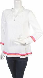 Bluzka Lieblingsstück z długim rękawem z dekoltem w kształcie litery v
