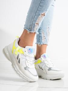 Buty sportowe Czasnabuty sznurowane na platformie z zamszu