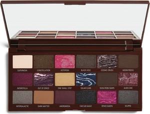 Makeup Revolution I Heart Revolution, Chocolate, paletka cieni do powiek, Galactic