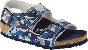 Buty dziecięce letnie Birkenstock ze skóry dla chłopców