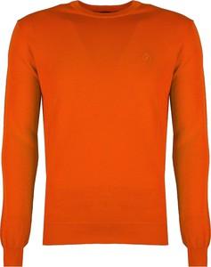 Sweter ubierzsie.com z okrągłym dekoltem z tkaniny w stylu casual