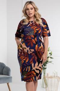 Sukienka KARKO z bawełny ołówkowa mini