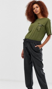 Czarne spodnie New Look Maternity