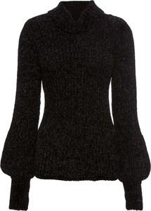 Czarny sweter bonprix BODYFLIRT