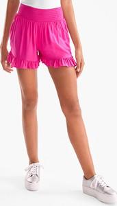 Różowe szorty CLOCKHOUSE w stylu casual
