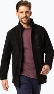 Granatowa kurtka James w stylu casual