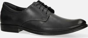 Czarne buty Windssor sznurowane
