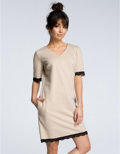 Sukienka Be z krótkim rękawem mini