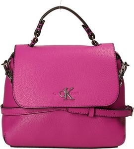 Różowa torebka Calvin Klein średnia na ramię
