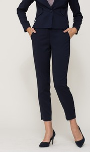 Granatowe spodnie VISSAVI