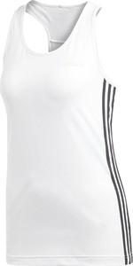 Bluzka Adidas z dzianiny w sportowym stylu z okrągłym dekoltem