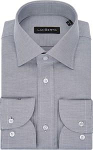 Koszula LANCERTO z tkaniny z klasycznym kołnierzykiem