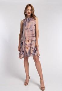 Sukienka Cotton Club mini bez rękawów