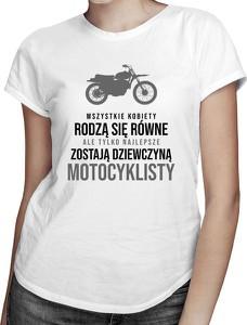 T-shirt Koszulkowy w młodzieżowym stylu z bawełny